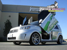 Vertical Doors 2008-UP SCION XB Bolt on Lambo Door Kit