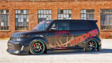 "08-10 Scion xB AirLift Kit With 4-Way Manual 1/4"" Air Management"
