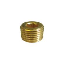 Brass Pipe Plug Allen 1/4 Npt
