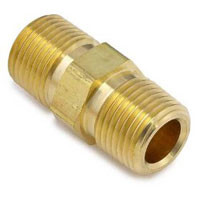 Brass Pipe Nipple Hex 3/8 Npt