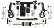 "2002-05 Dodge 1500 4WD 5"" Lift Kit With Nitro Shocks"