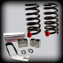 "1982-2004 S-10 & Sonoma 3""Fr.- 4""Rr. Lowering Kit"