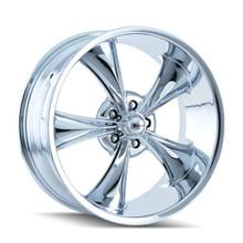 Ridler 695 Series Wheels Chrome 18X8 5 X 127