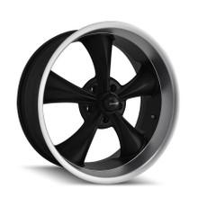 Ridler 695 Series Wheels Matte Black 17 X 7 5 X 120.65