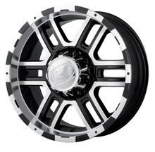 Ion 179 Black/Machined 17X8 5 X 127