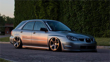 2002-2007 Subaru Impreza Air Lift Kit with Manual Air Management