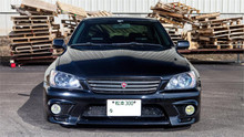 1998-2005 Lexus IS200 Air Lift Kit with Manual Air Management- Front View