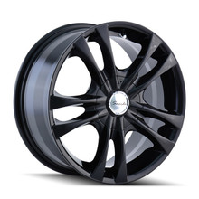 Sacchi 220 Black 15X7 5-100/5-114.3 40mm 72.62mm