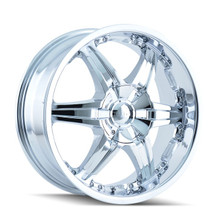 DIP D39 Wicked Chrome 24x9.5 5-115/5-127 18mm 78.3mm