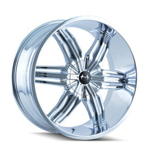 Mazzi 792 Rush Chrome 24x9.5 6-135/6-139.7 30mm 108mm