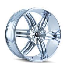 Mazzi 792 Rush Chrome 24x9.5 5-115/5-127 18mm 78.3mm