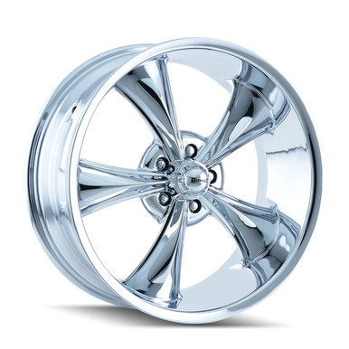 Ridler 695 Chrome 18x9.5 5-114.3 6mm 83.82mm