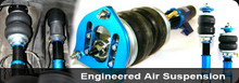01-05 Mitsubishi Evo 7/Evo 8 AirREX Complete Air Suspension System