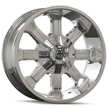 Mayhem Beast 8102 Chrome 18x9 8x165.1/170 -12mm 130.8