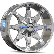 ION 181 Chrome 17x9 8x165.1/170 -12mm 130.8