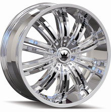 Mazzi 363 Swank Chrome 22x9.5 5-127/139.7 +18mm 87