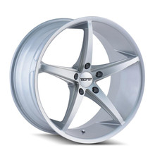 Touren TR70 Silver Milled Spokes 20x10 5-114.3 +40mm 72.62