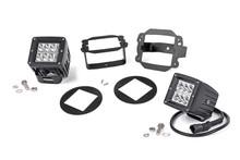 Jeep JK 2 Inch Cree LED Fog Light Kit