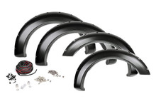 09-15 Dodge Ram 1500 w/Plastic Bumper Pocket Fender Flares w/Rivets