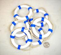 Small Blue Life Ring Preservers Buoys
