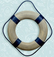 """Antiqued Life Ring Buoys Preservers 20"""""""