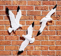Seagull 3/set Sea Gull Soaring Birds Wall Plaques