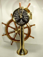 47 Inch Full Size Brass Engine Order Telegraph