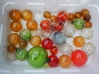 "Random 2"" to 5"" Glass Balls Floats"