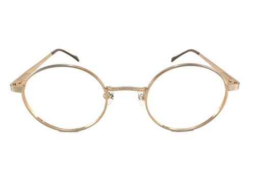 john lennon jl 310 eyeglass frames satin gold