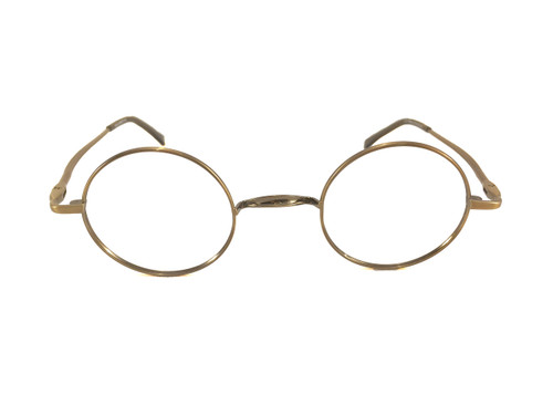 john lennon wheels eyeglass frames antique copper
