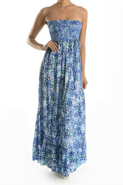 Maxi Dress with Skirted Bottom