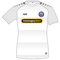 Braintree Town Away Shirt 2016/17 by Jako. Available now from Andreas Carter Sports.