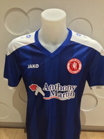 Welling United FC Adult Away Shirt 16/17 by Jako. Available now from Andreas Carter Sports.