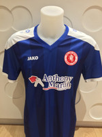 Welling United FC Junior Away Shirt 16/17 by Jako. Available now from Andreas Carter Sports.