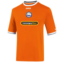 Braintree Town Junior Home Shirt 2016/17 by Jako. Available now from Andreas Carter Sports.
