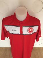 Welling United FC Player Polo Shirt AD by Jako. Available now from Andreas Carter Sports.