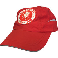 Welling United Baseball Cap with Coolmax, by Beechfield. Available now from Andreas Carter Sports.