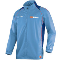 The National League Bench Rain Jacket by Jako. Available now from Andreas Carter Sports.