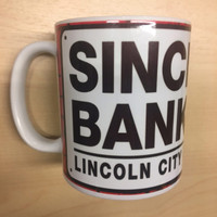 Lincoln City LN5 Mug. Available now from Andreas Carter Sports.