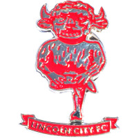 Lincoln City Pin Badge by Ascar. Available now from Andreas Carter Sports.
