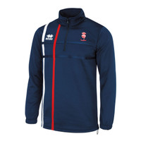 Lincoln City FC 1/4 Zip Top by Errea. Available now from Andreas Carter Sports.