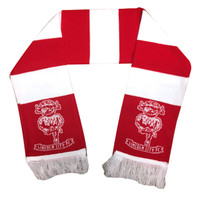 Lincoln City FC official bar scarf with IMP logo. Available now from Andreas Carter Sports.