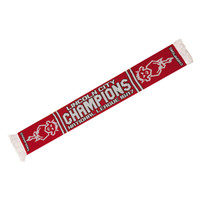 Lincoln City FC, NL Champions Scarf by Errea. Available now from Andreas Carter Sports.