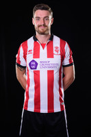 Official Lincoln City Home Shirt 2017/18 by Errea. Available now from Andreas Carter Sports.