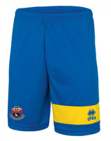 AFC Sudbury, Kids Home Shorts 2017/18 by Errea. Available now from Andreas Carter Sports.