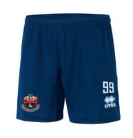 AFC Sudbury Academy, Kids Away Shorts 2017/18 by Errea. Available now from Andreas Carter Sports.