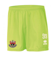 AFC Sudbury Academy, Goalkeeper Shorts 2017/18 by Errea. Available now from Andreas Carter Sports.
