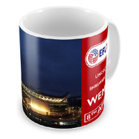 Lincoln City, Trophy Stadium Mug by Ascar. Available now from Andreas Carter Sports.