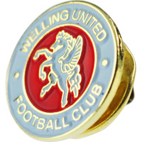 Welling United Pin Badge (small 10mm). Available now from Andreas Carter Sports.