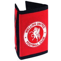 Welling United Ripper Wallets by Ascar. Available now from Andreas Carter Sports.